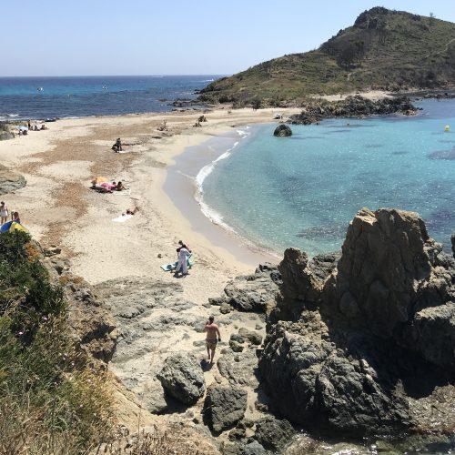 Strande omkring Saint Tropez